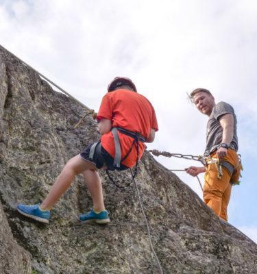 Kalliolaskeutuminen