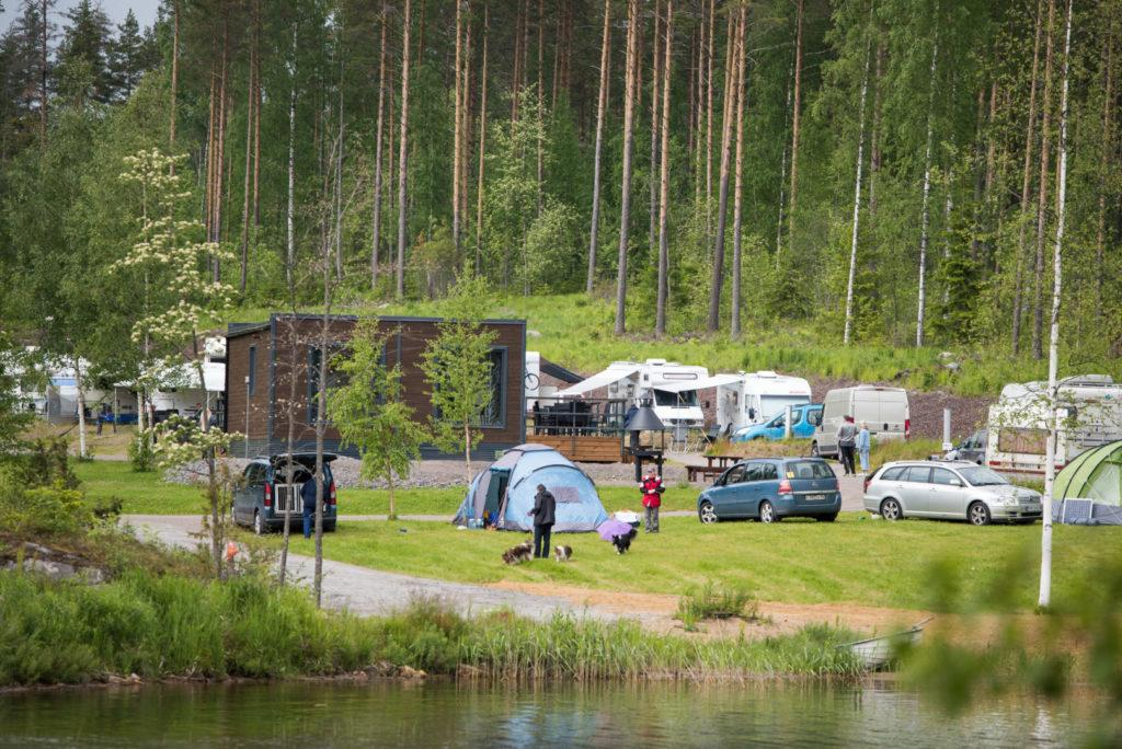 Leirintäalue - Tanhuvaara Camping