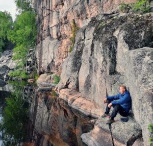 Luontoliikuntaohjauskoulutus kouluttaja Sami