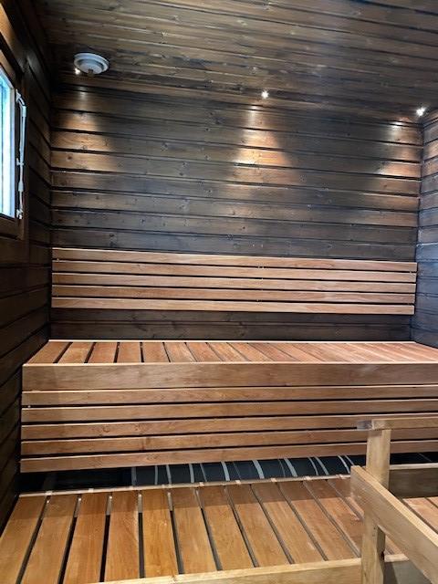 Villan sauna